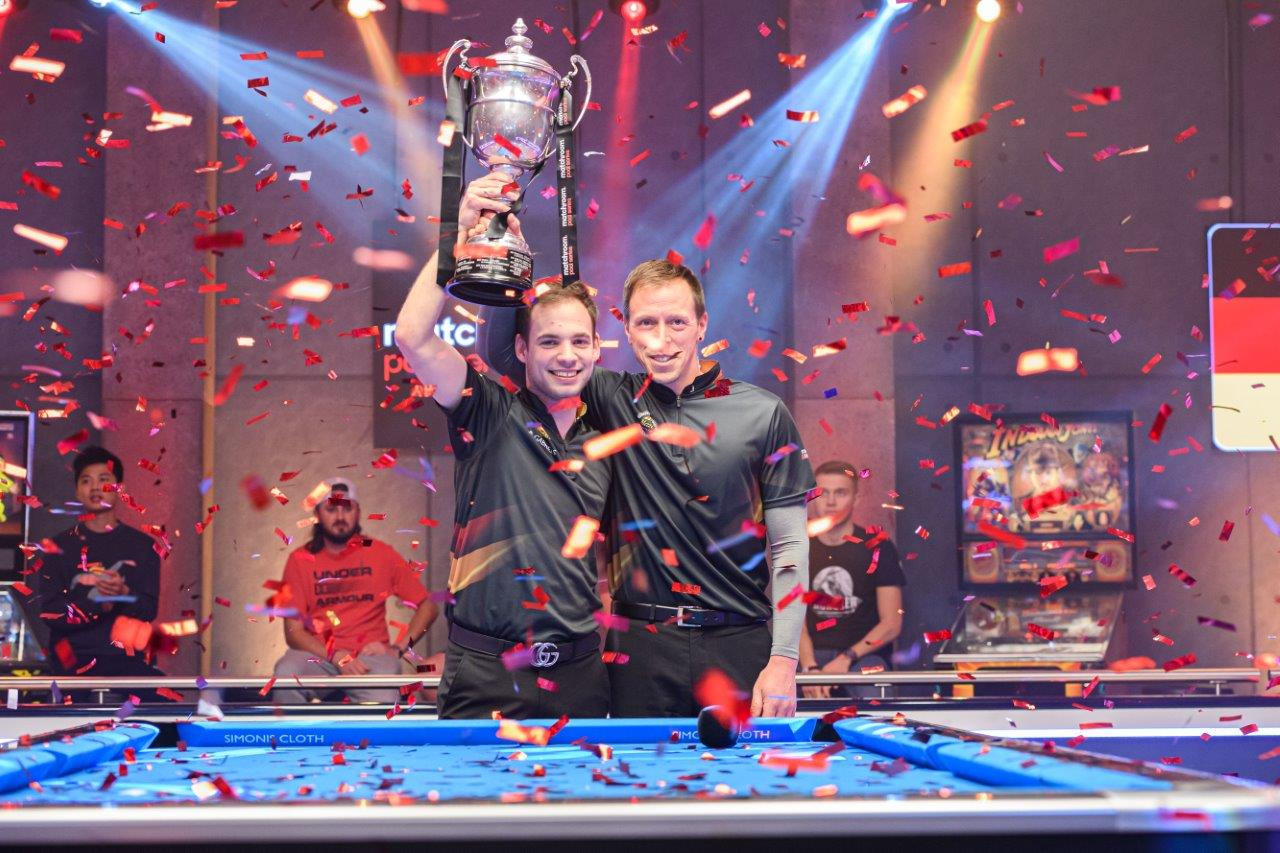 GERMANY BEAT GREAT BRITAIN TO LIFT WORLD CUP OF POOL