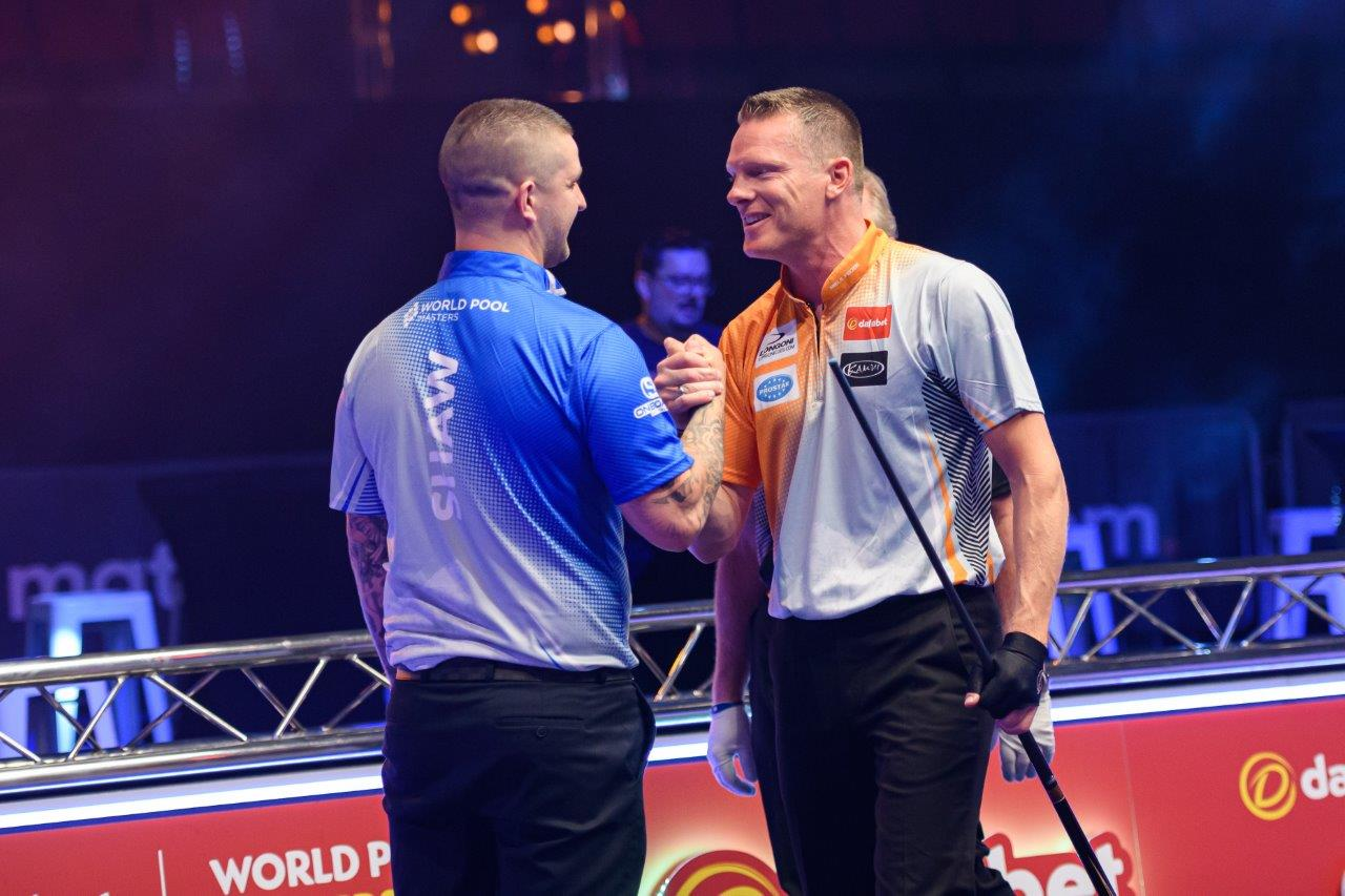 FEIJEN THROUGH AS LECHNER AND GRABE ADVANCE AT DAFABET WORLD POOL MASTERS