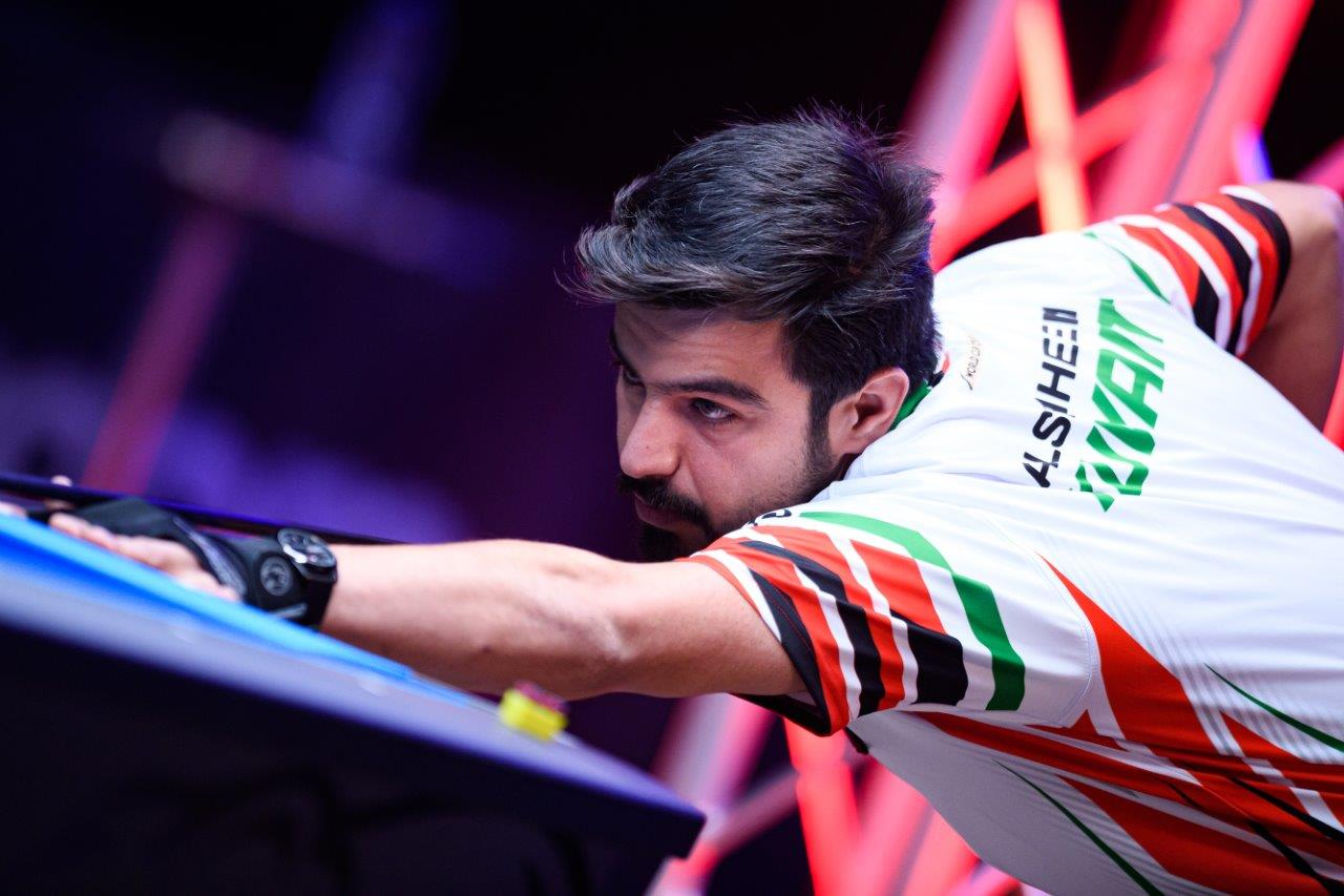DOWN TO FINAL FOUR AT WORLD POOL CHAMPIONSHIP
