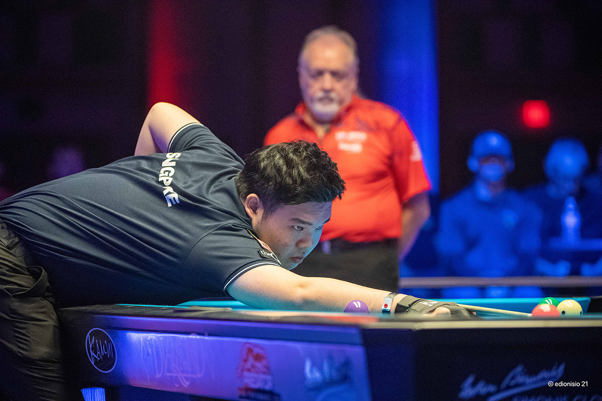 US Open Pool Championship down to 8 with Van Boening out