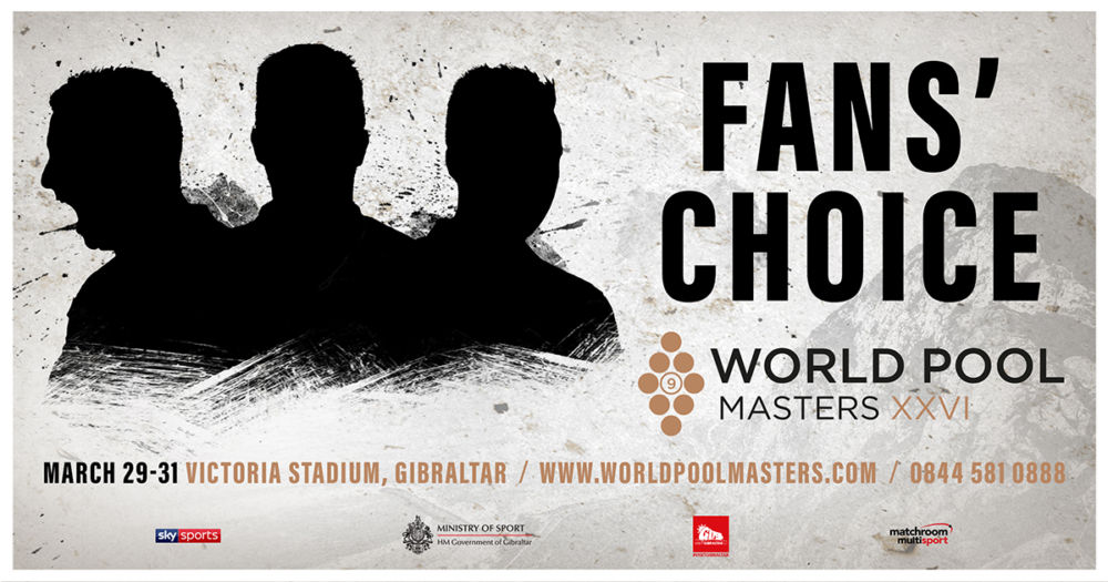 World Pool Masters Fans' Choice - Make Your Nomination Now!