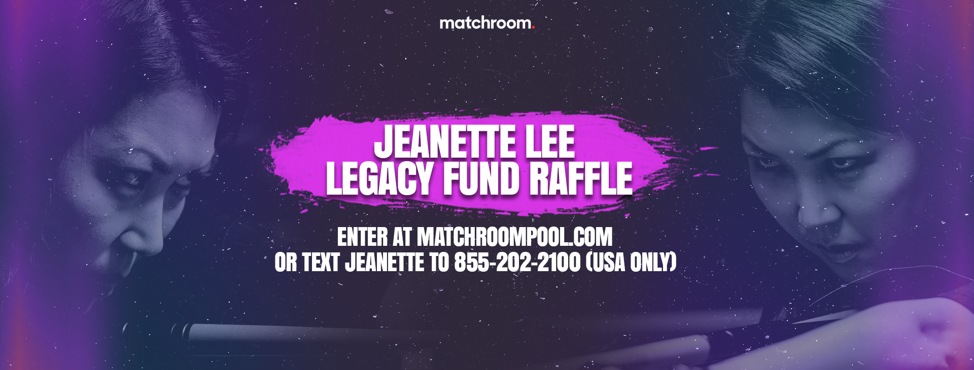 ENTER OUR JEANETTE LEE LEGACY FUND RAFFLE