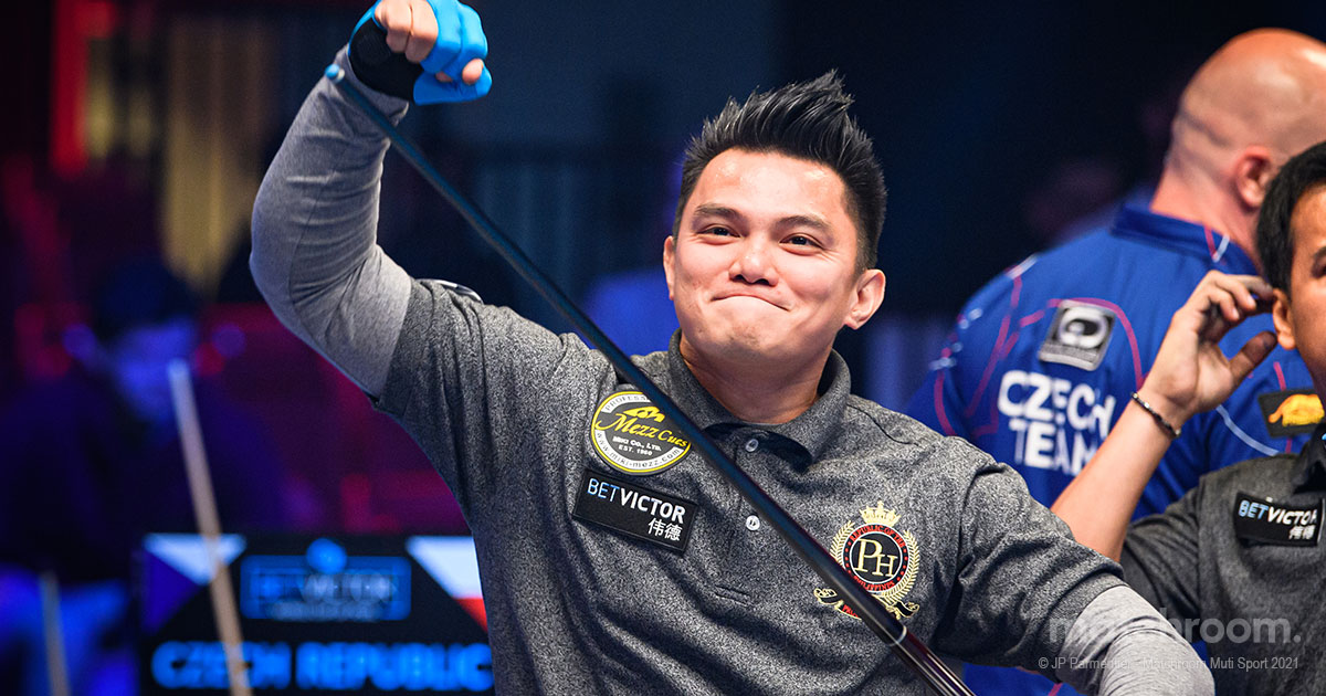 PHILIPPINES AIM FOR RECORD FOURTH TITLE AT WORLD CUP OF POOL
