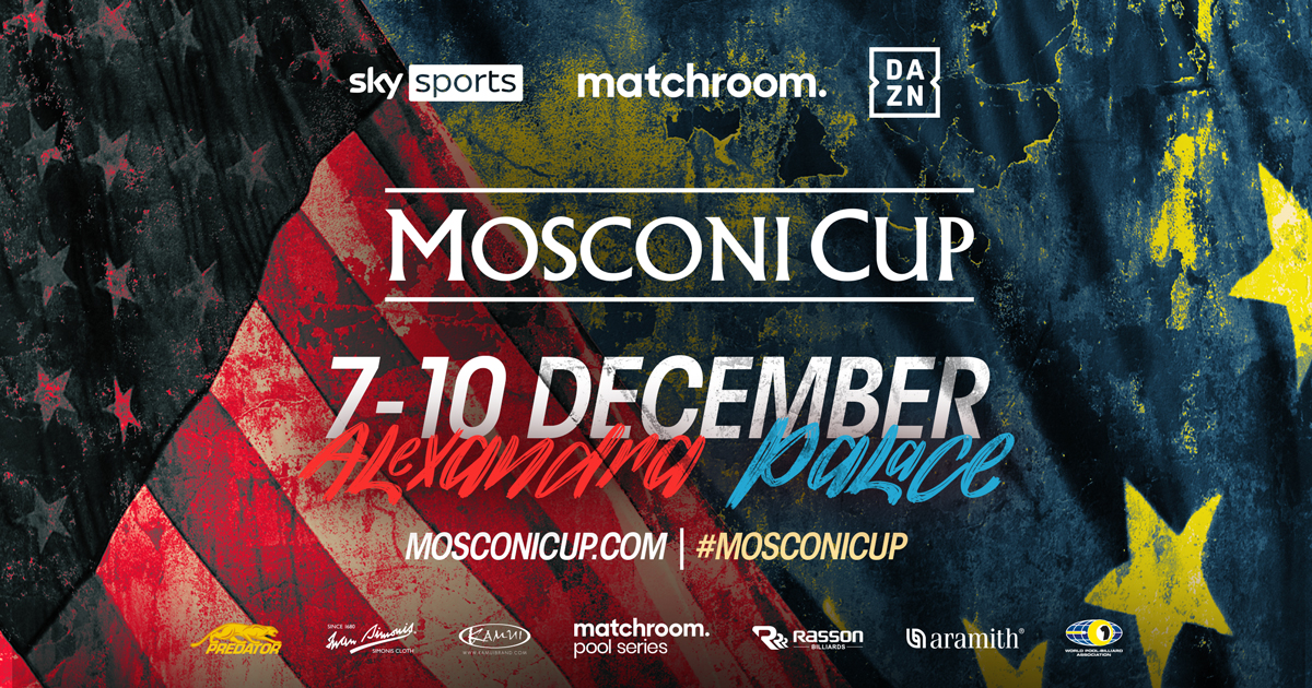 Race To Mosconi Cup Concludes with US Open Pool Championship