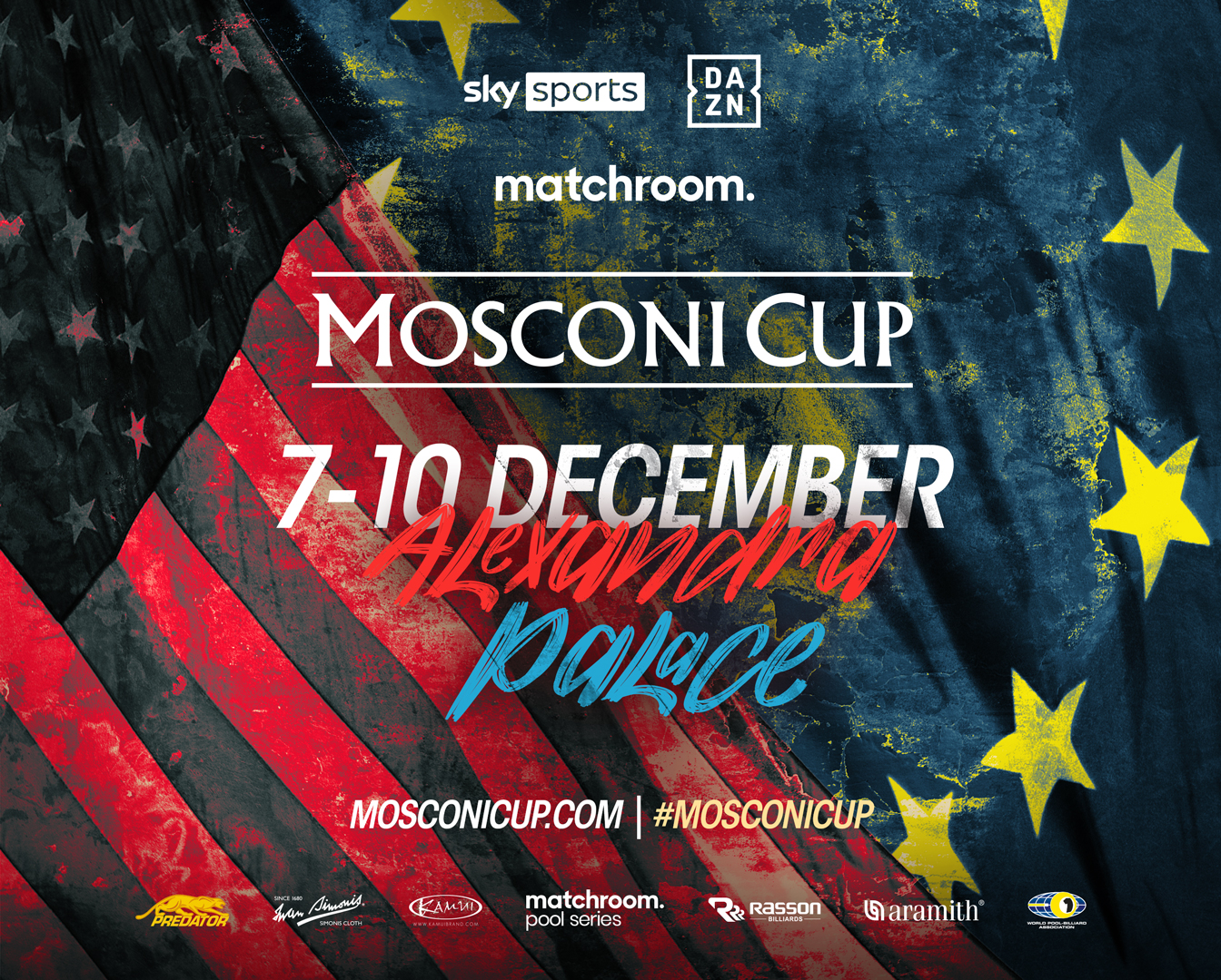 MOSCONI CUP: TICKETS ON SALE AUG 23