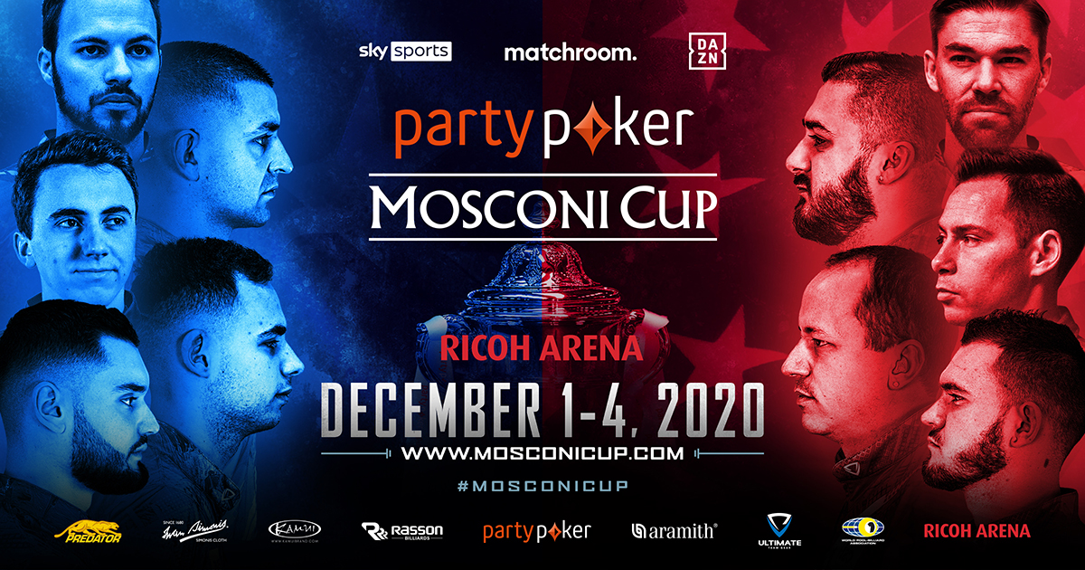 FANS' CHOICE VOTE OPEN FOR PARTYPOKER MOSCONI CUP
