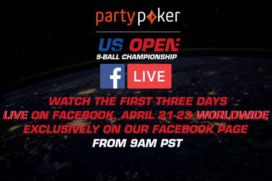 PARTYPOKER US OPEN 9-BALL CHAMPIONSHIP SET FOR FREE FACEBOOK
