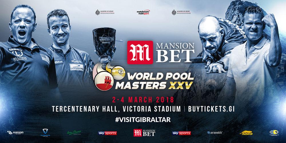 MansionBet World Pool Masters XXV – Preview
