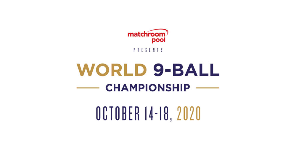 MATCHROOM POOL ACQUIRES WORLD 9-BALL CHAMPIONSHIP