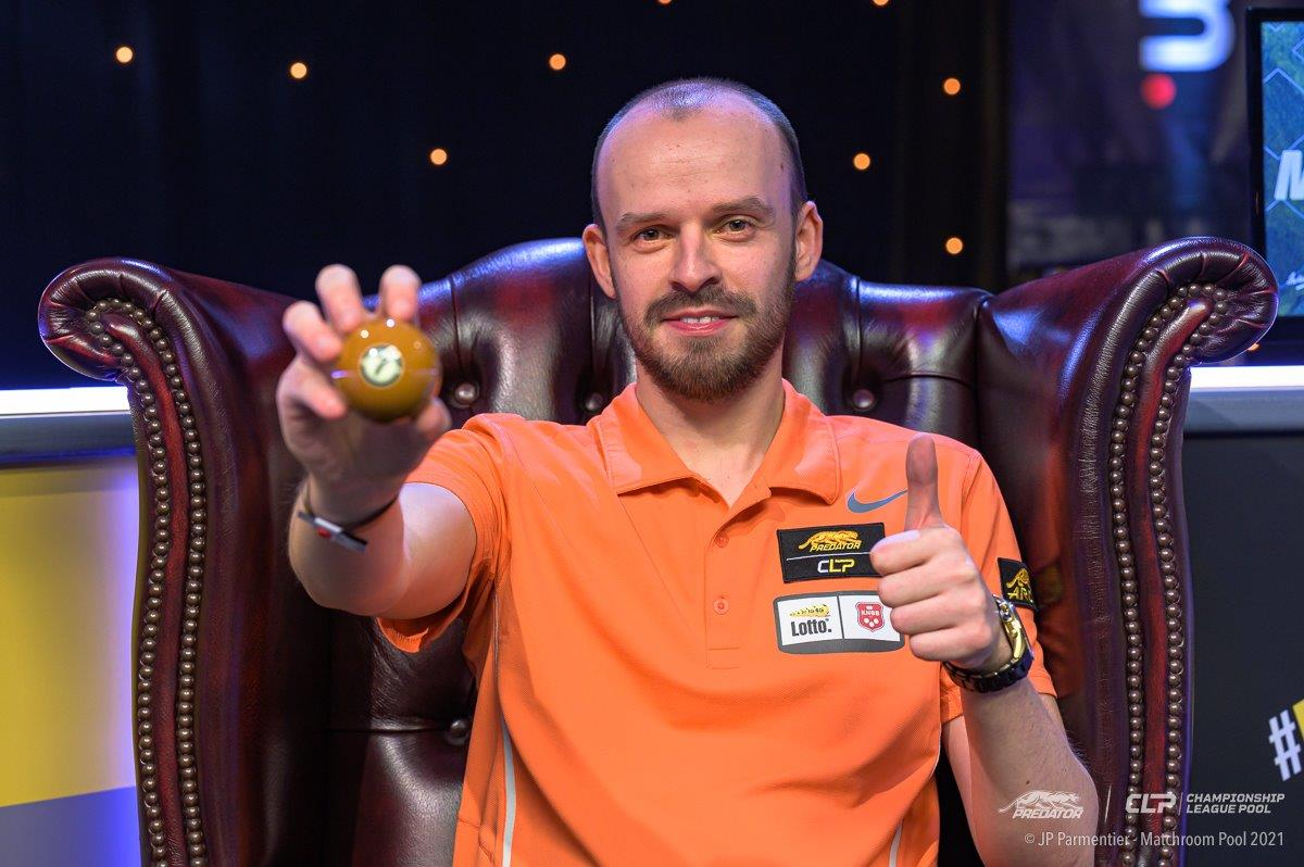 BIJSTERBOSCH COMPLETES PREDATOR CHAMPIONSHIP LEAGUE POOL WINNERS' GROUP