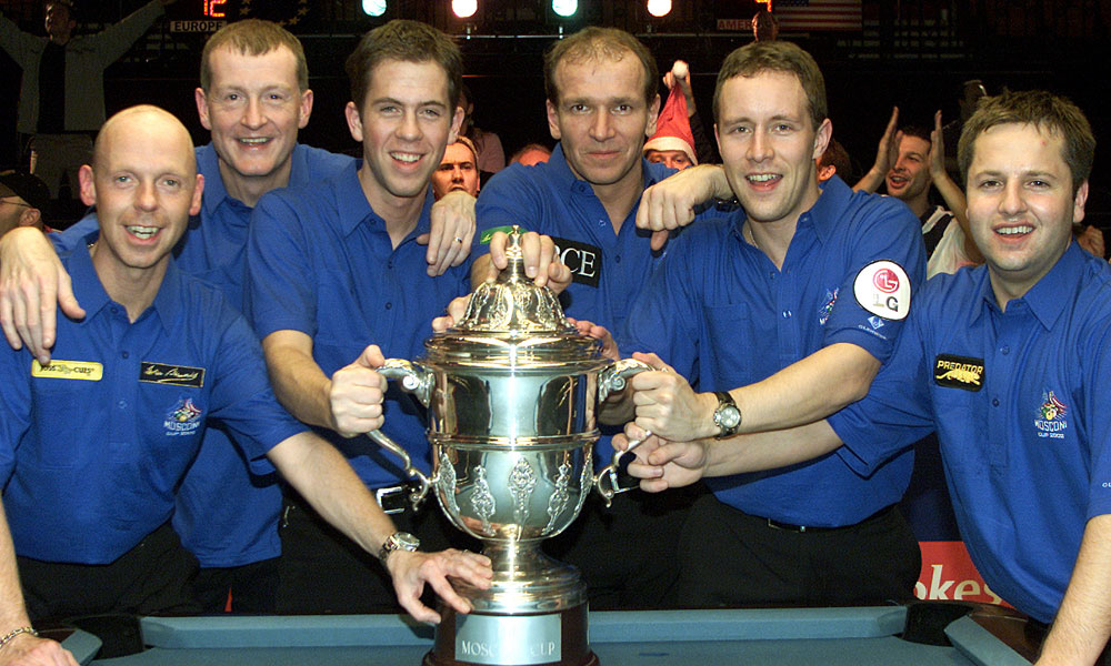 Steve Davis: Mosconi 2002 Was One Of The Best Moments Of My Career