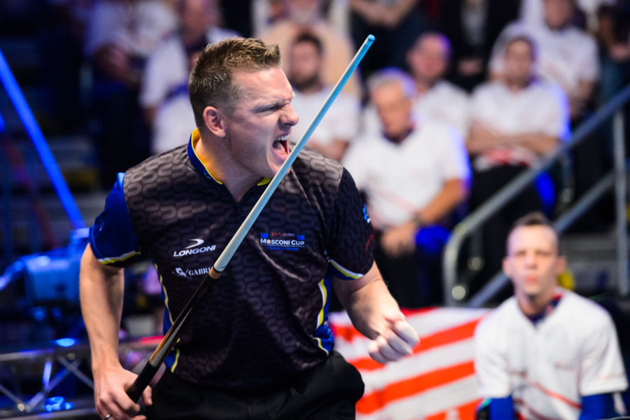 Feijen claims first berth on Team Europe