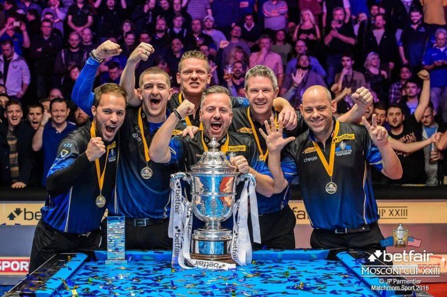 Europe Win Betfair Mosconi Cup XXIII