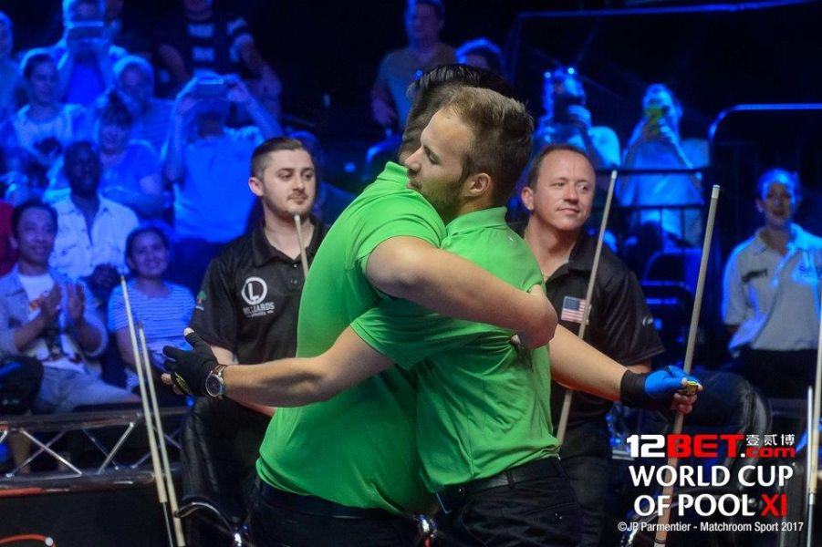 Austria are the 12BET World Cup of Pool Champions!