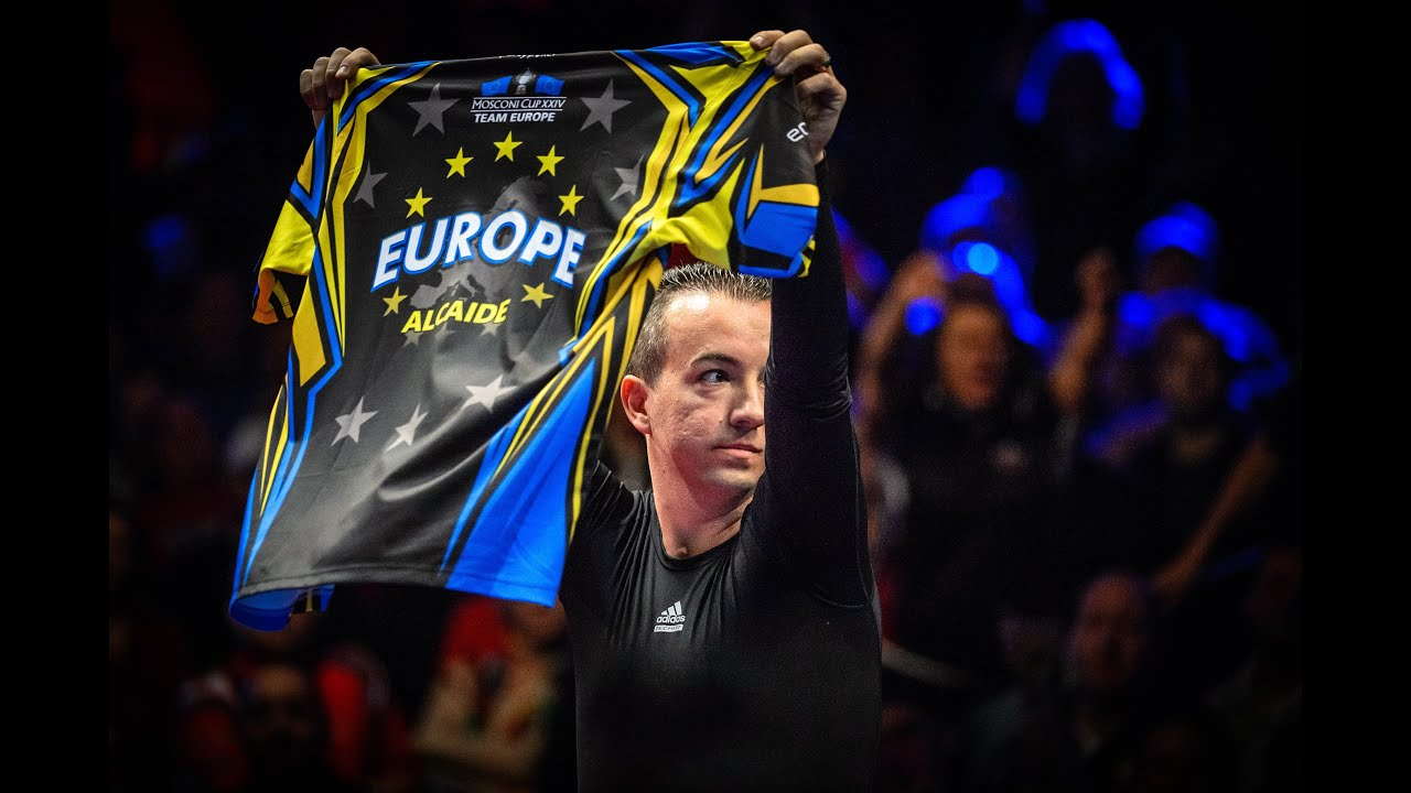 Alcaide: It's the best feeling when you play in the Mosconi Cup