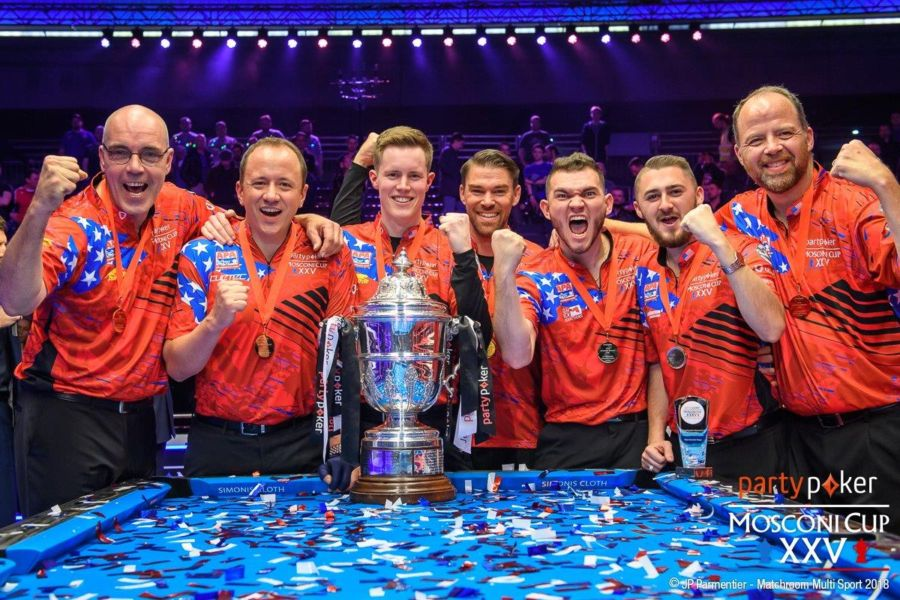 USA Win partypoker Mosconi Cup XXV