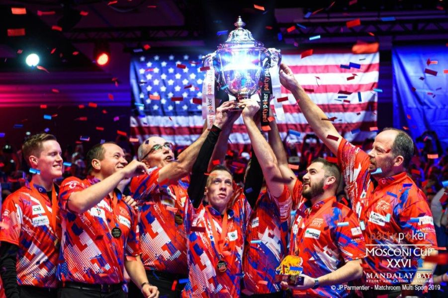 USA ARE PARTYPOKER MOSCONI CUP CHAMPIONS