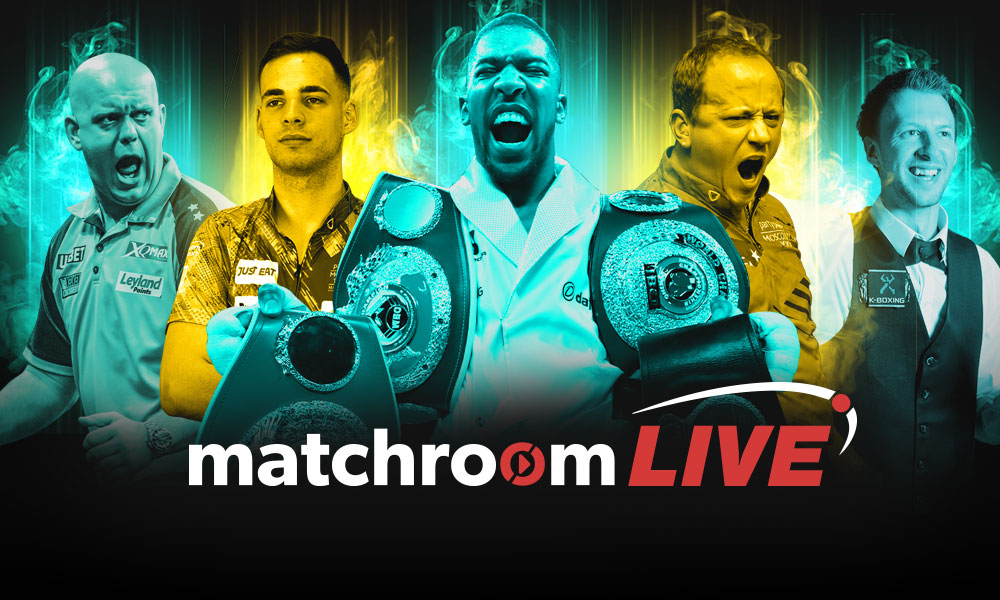 Matchroom Live Available Now