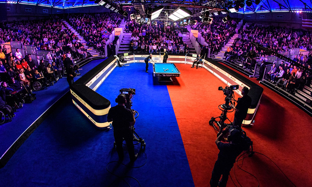 Partypoker Mosconi Cup Set For Global TV Coverage Matchroom Pool - Mosconi pool table