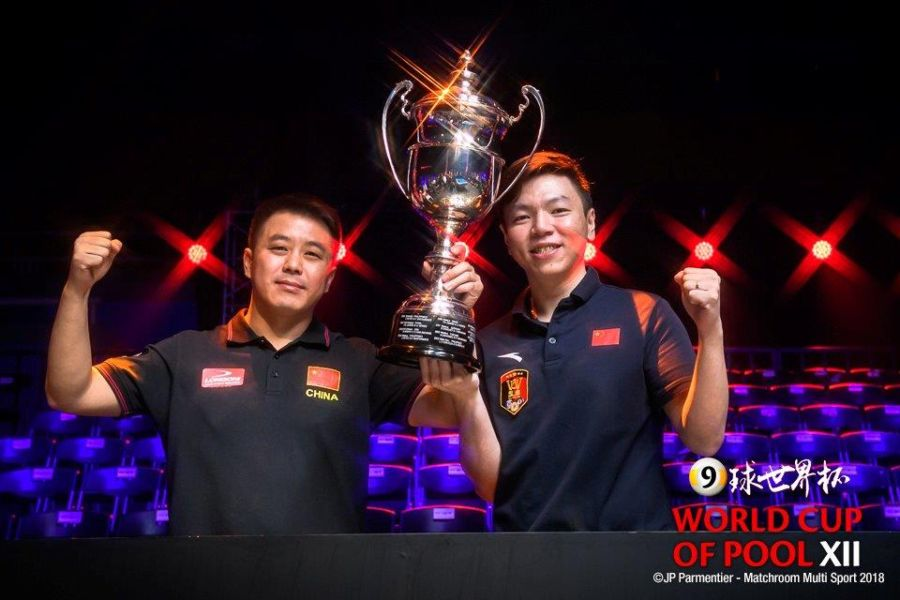 China are World Cup of Pool Champions