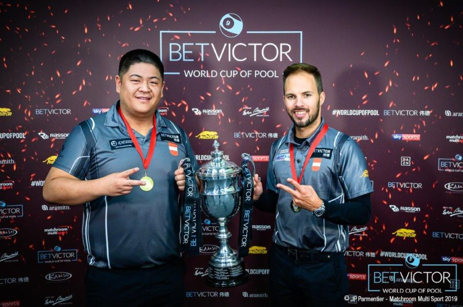 Austria Are BetVictor:World Cup of Pool Champions Again