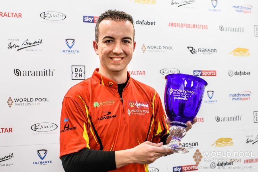 Alcaide Is Dafabet World Pool Masters Champion
